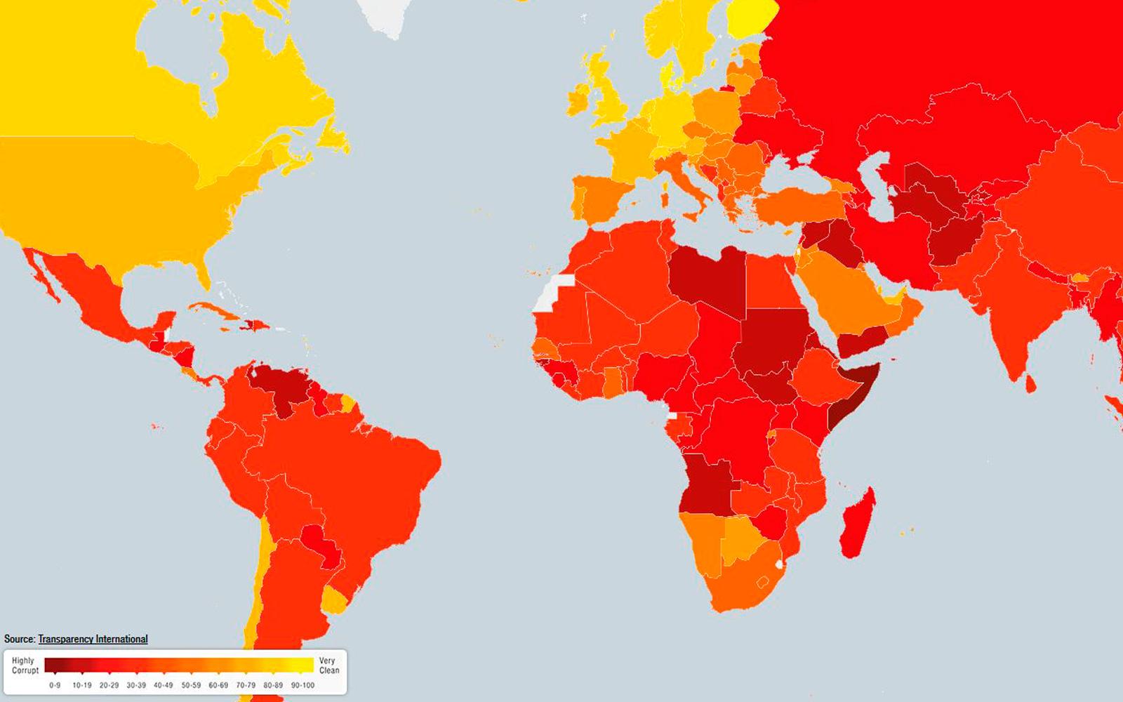 Transparency International Corruption 2017