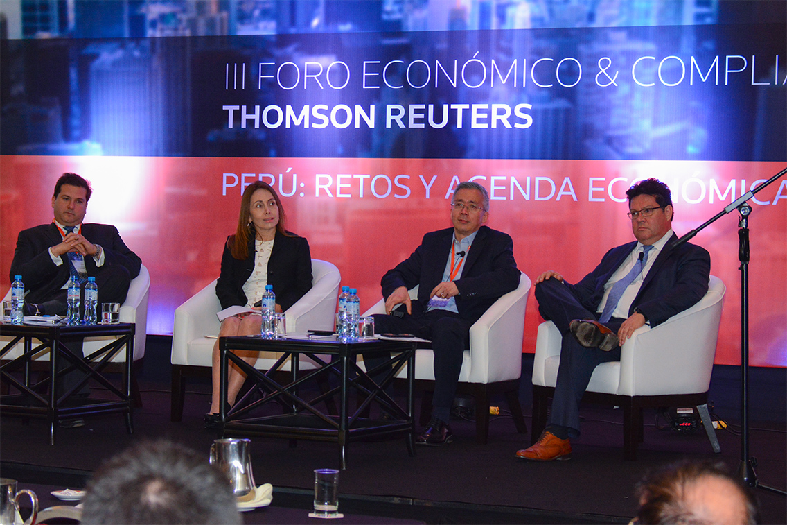 Tercer Foro Económico & Compliance de Thomson Reuters