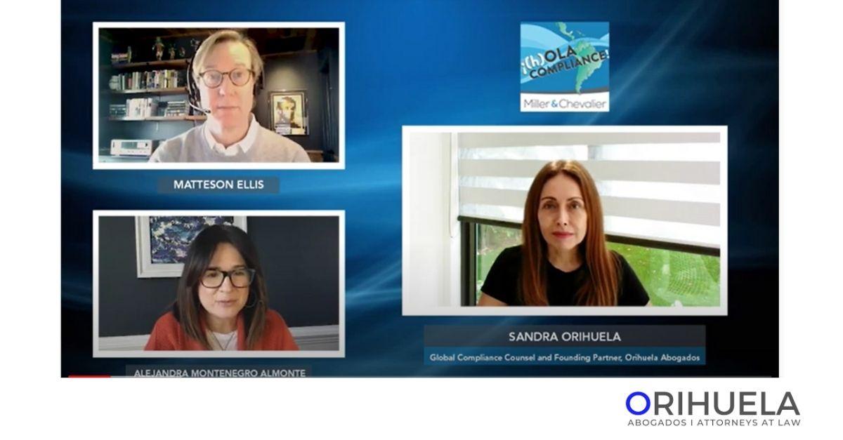 Sandra Orihuela participa en ¡(H)Ola Compliance!